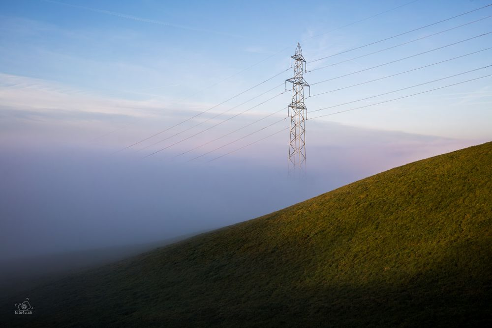 Photo in Abstract #root #michaelskreuz #luzern #fog #nebel #foto4u.ch #foto4u #inthefog #sony #loxia