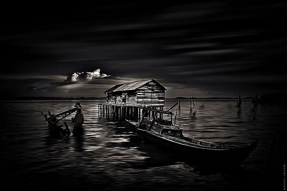 Photo in Random #water #sea #black and white