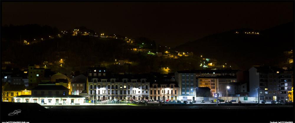 Photo in Urban #sama #nocturna #langreo #lasfotosdegines #asturias