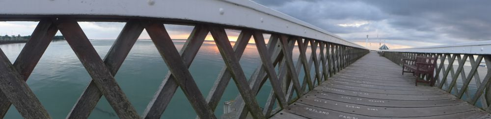 Photo in Architecture #yarmouth #isle of wight #pier #england