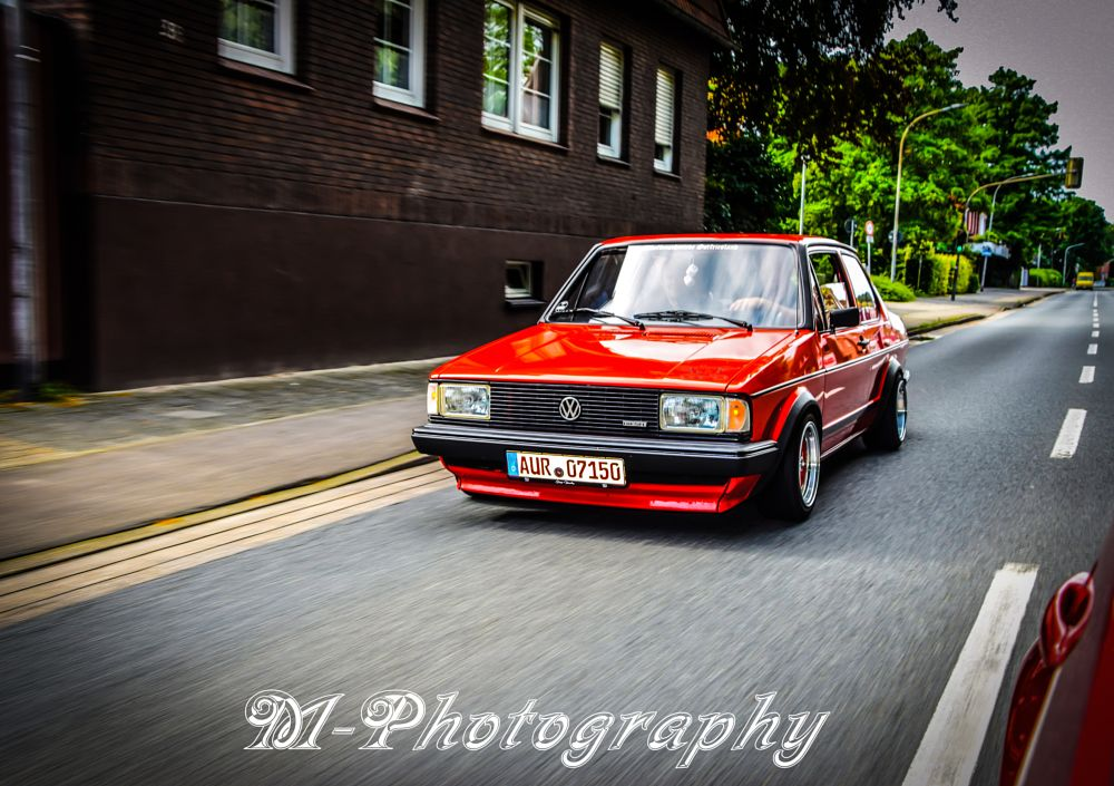 Photo in Vehicle #m-photography #volkswagen #oldschool #mk1 #jetta #low