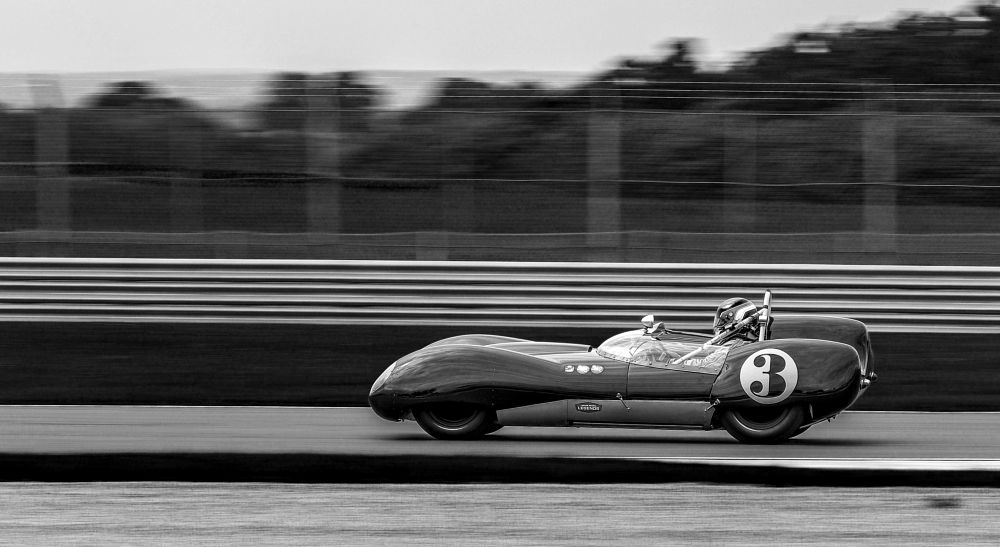 Photo in Sports #motorsport #car #historic festival #vehicle #monochrome #duotone #racng