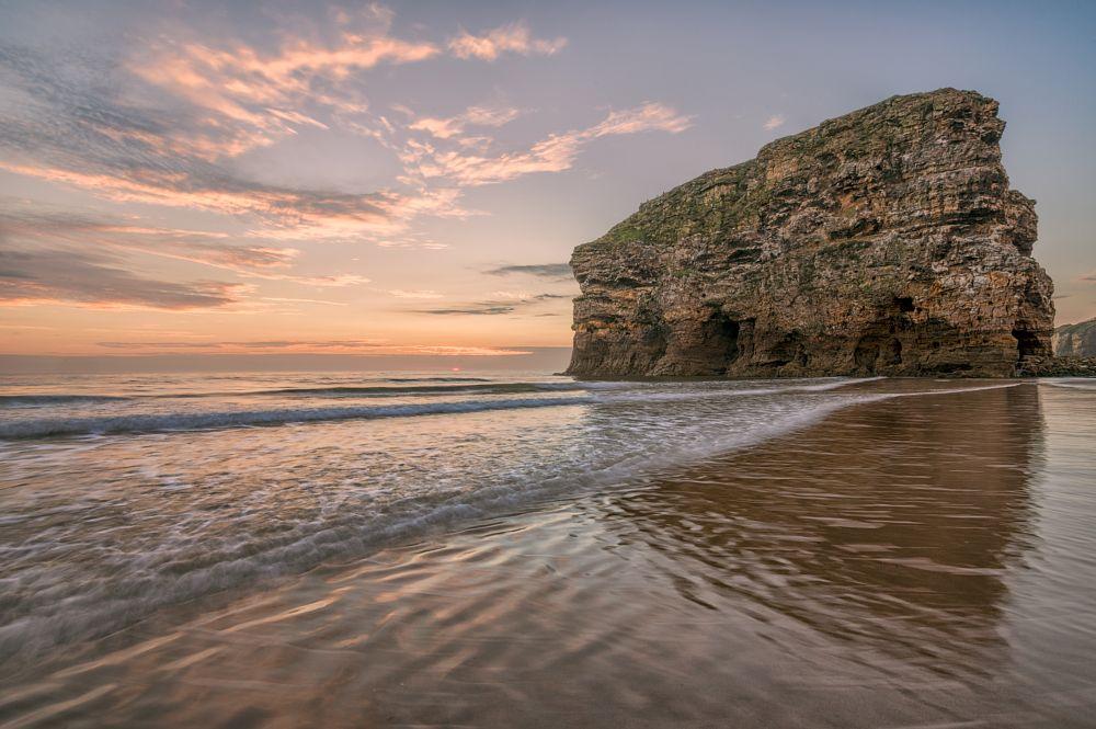 Photo in Landscape #marsden rock #south shields #sunrise