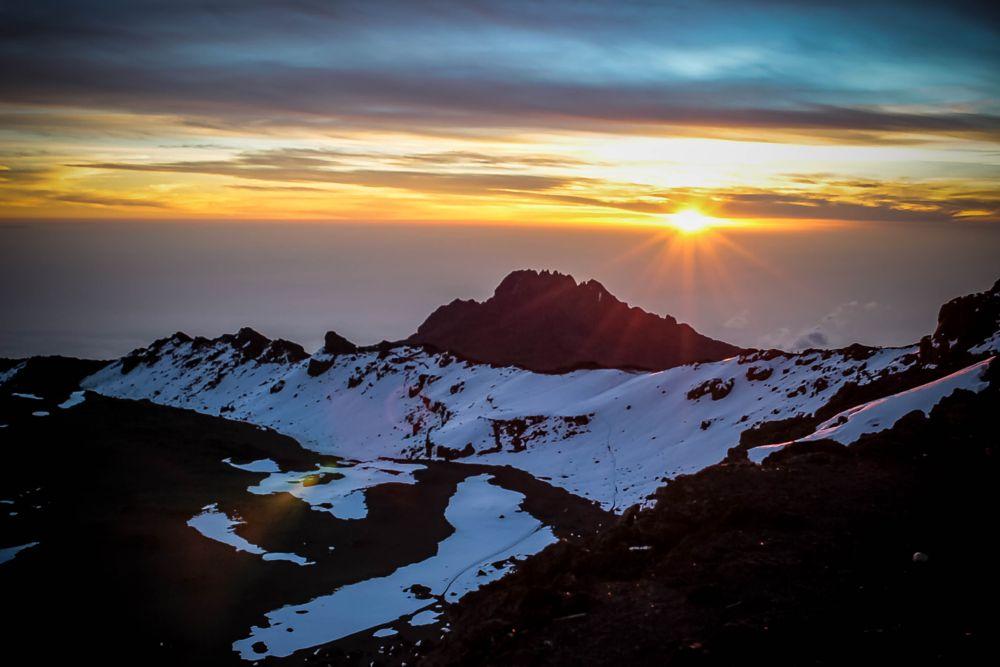 Photo in Nature #mount #mount kilimanjaro #kilimanjaro #tanzania #sunrise #trekking #hiking #glaciers #roofofafrica #africa #nature