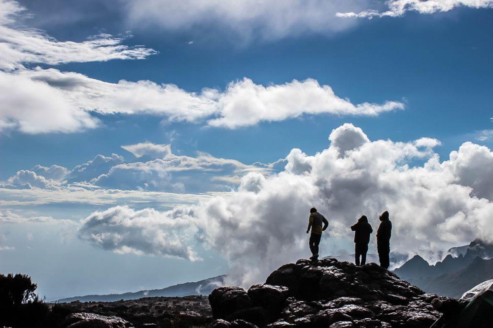 Photo in Landscape #clouds #trekking #mount_kilimanjaro #mount