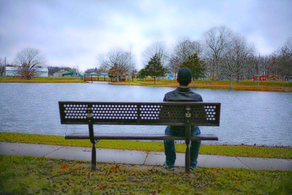 Photo in HDRI #peace #peace of mind #serenity #landscape #lake #cityscape #rolla
