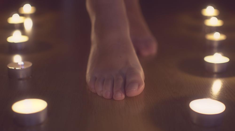 Photo in Portrait #walk #feet #foot #candlelight
