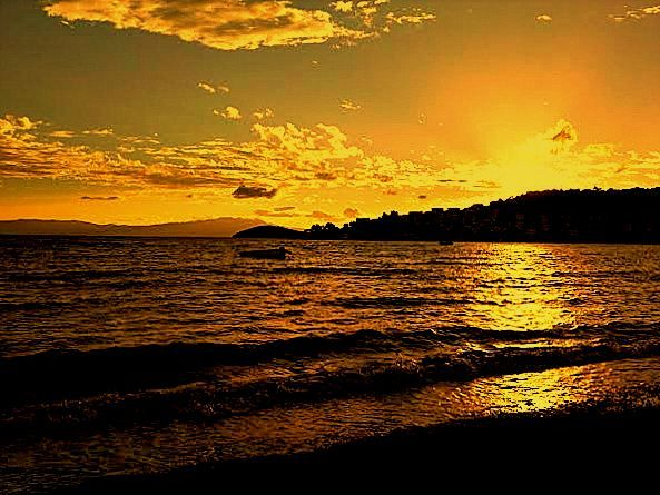 Photo in Landscape #fantastic sunsets of bitez 4 #bitez #bodrum #turkey