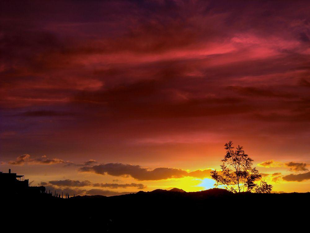 Photo in Landscape #good night from bodrum 183 #bitez #bodrum #turkey