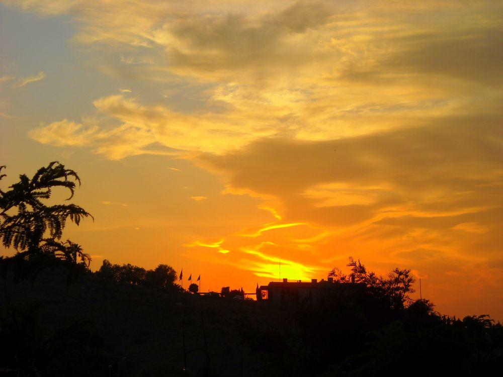 Photo in Landscape #good night from bodrum #my balcony #bitez #bodrum #mugla #turkey #sunset