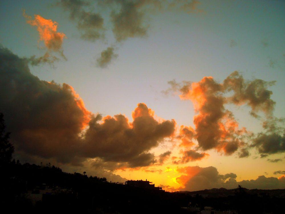 Photo in Landscape #good night from bodrum #bitez #my balcony #bodrum #mugla #turkey #sunset