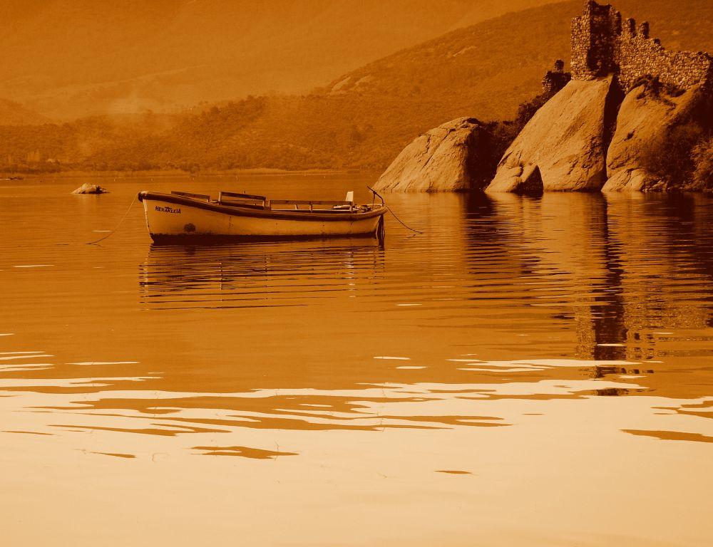 Photo in Landscape #bafa lake herakleia #processed sepia #bafa #herakleia #mylasa