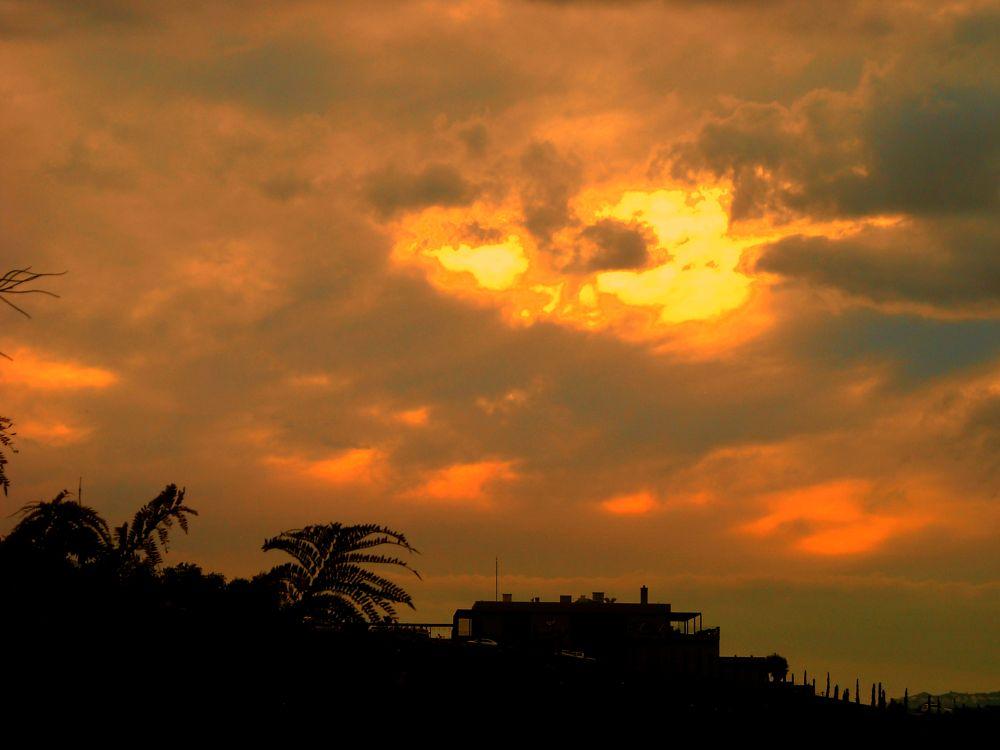 Photo in Landscape #good night from bodrum #bitez #my balcony #bodrum #mugla #turkey