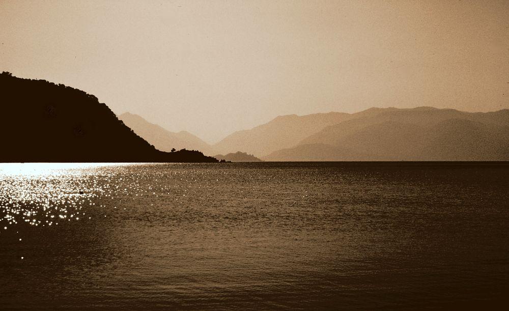 Photo in Landscape #beautiful bays of fethiye 1 #fethiye #mugla #turkey #sepia #full screen