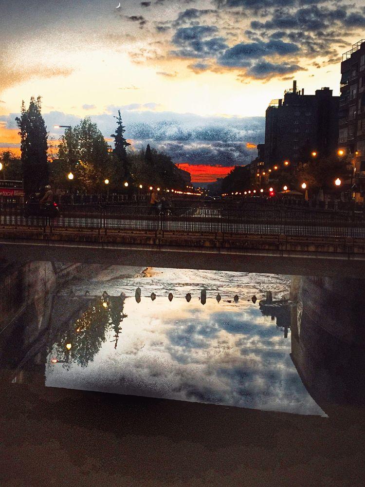 Photo in Cityscape #la tarde #en el rio #de mi ciudad