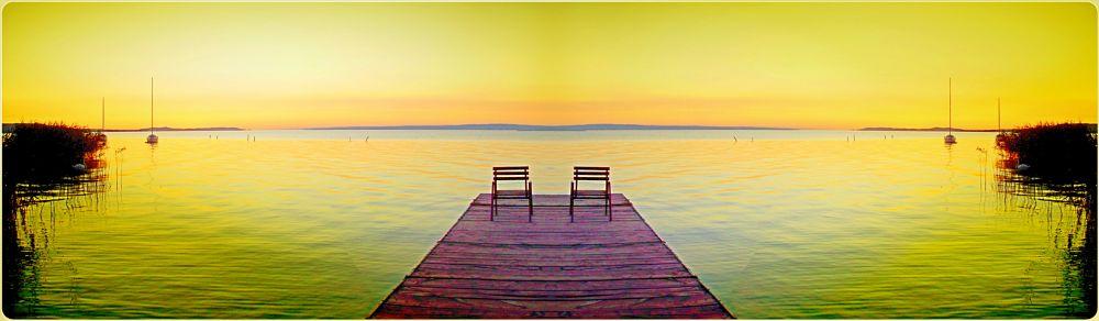 Photo in Landscape #landscape #colours #lake #balaton
