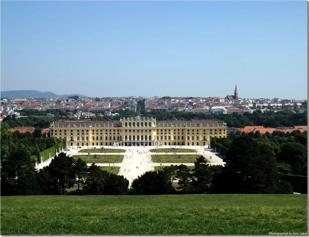 Photo in Travel #schönbrunn palace am vienna #street #landscape #vienna