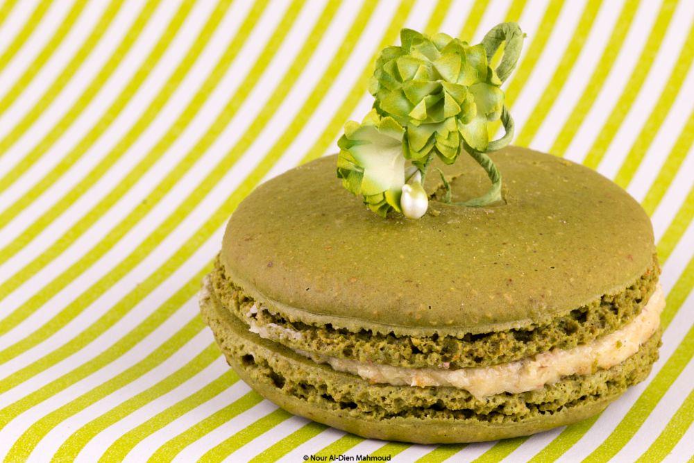 Photo in Food #green #macaron #food #still #life