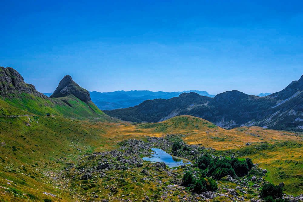 Photo in Landscape #mountains #lake #sky