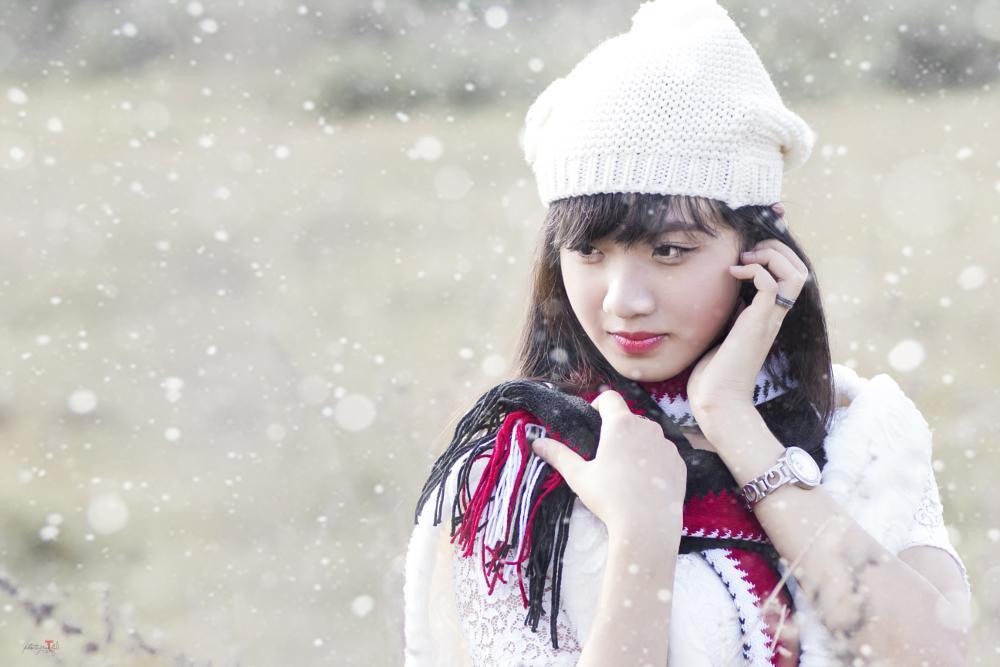 Photo in Portrait #mùa đông #mai thai #lyphutai