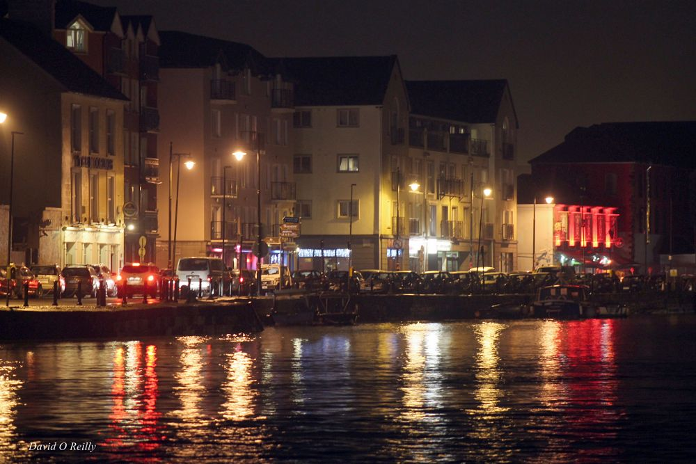 Photo in Landscape #dungarvan town at night  irela