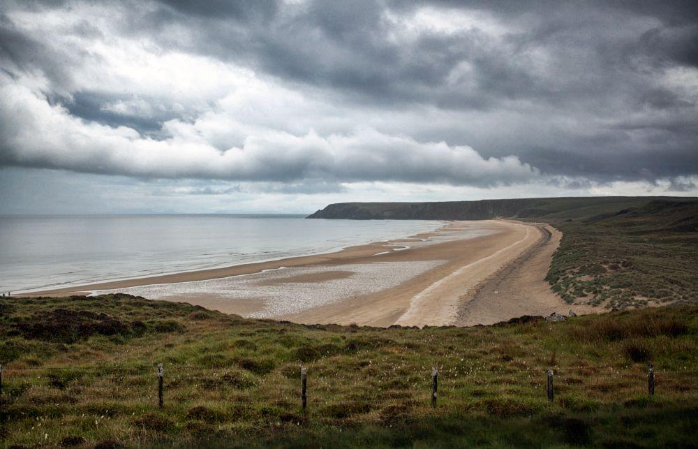 Photo in Sea and Sand #tolsta #beach #uk #gb #scotland #isleoflewis #nature #scottish #moody #sand #sea