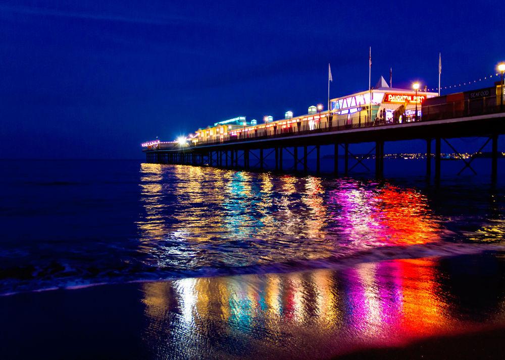 Photo in Random #water #night #pier #uk #eos #7d #ourniti #damian #michalowski #paignton