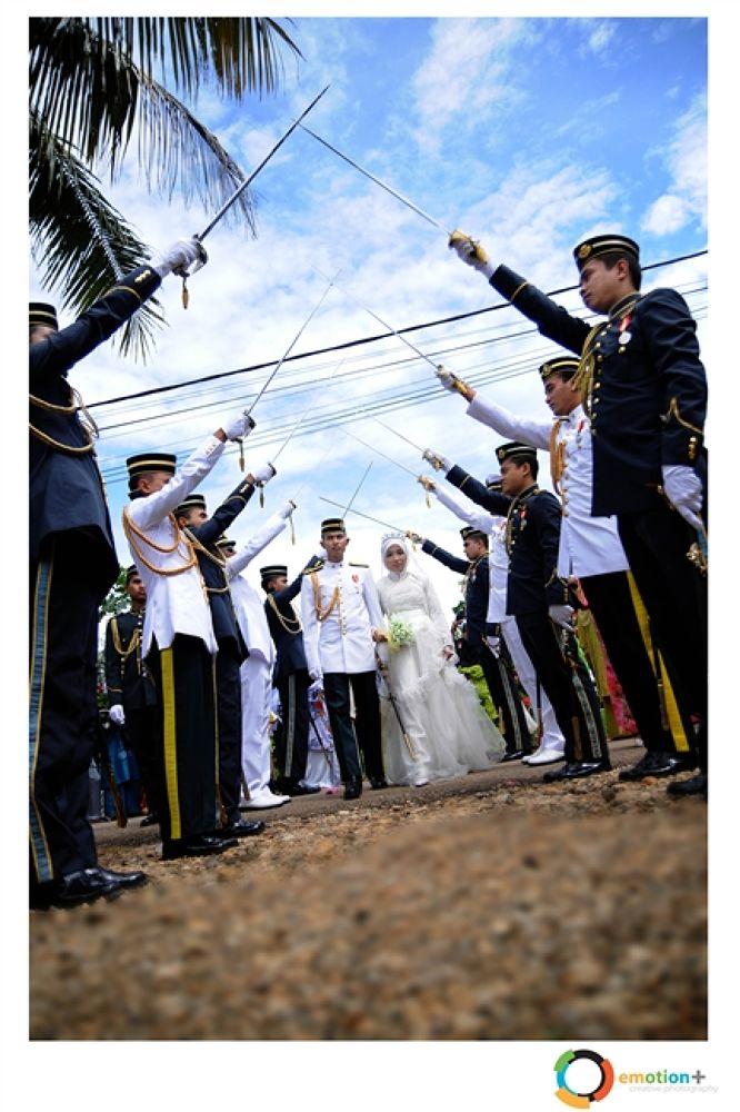 Photo in Wedding #in #wedding #army #kedah