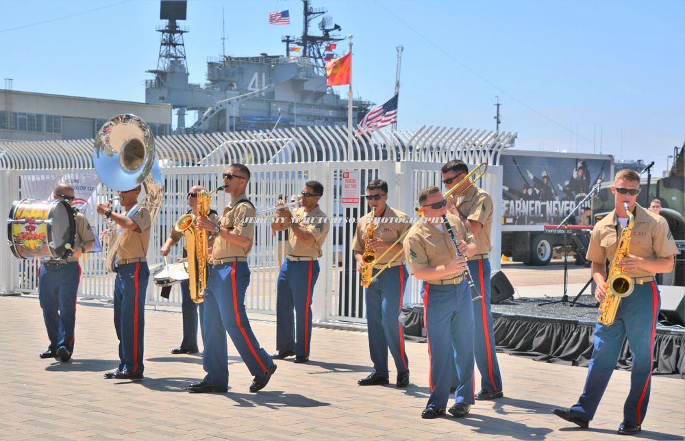 Photo in Vehicle #uss midway #fleet week #sailors
