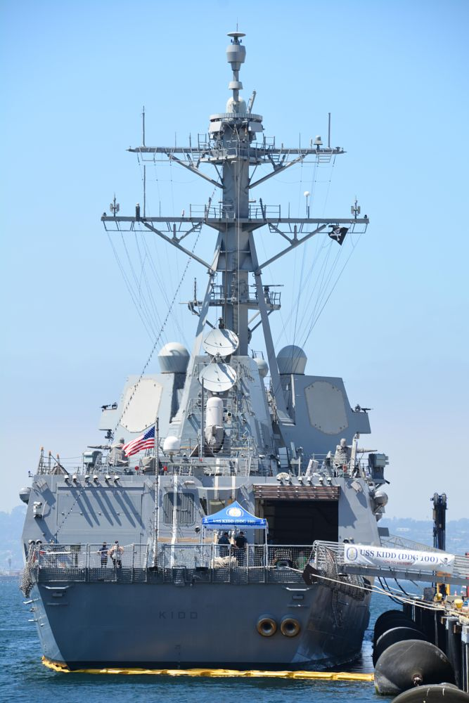 Photo in Vehicle #uss kidd #san diego #fleet week