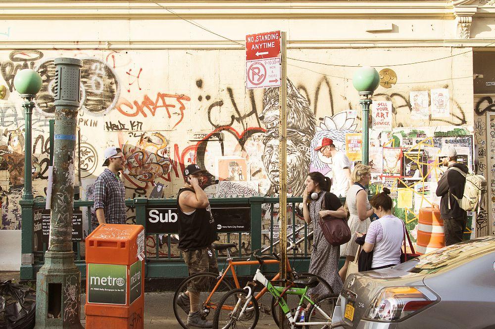 Photo in Street Photography #america #brooklyn #city #before avenue #graffiti #metro #new york #people #street #subway #usa #williamsburg