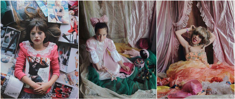 Photo in Portrait #model #children #series #girls #gender #princess #fairy #tale #horror #natural light #magazine #publication #portraits #child #girl #doll #game #pink #make up #woman #vision #child game