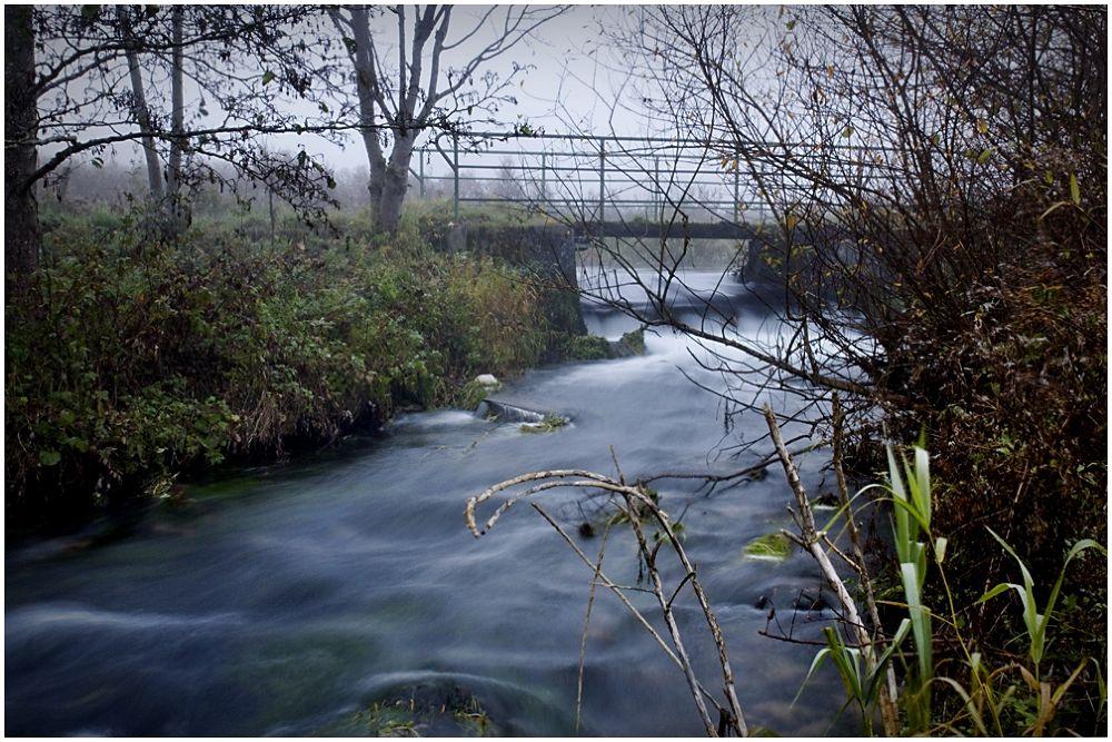 Photo in Random #sea #river #bridge #morning #fog #canon 600 d #rena sap #swabian alb