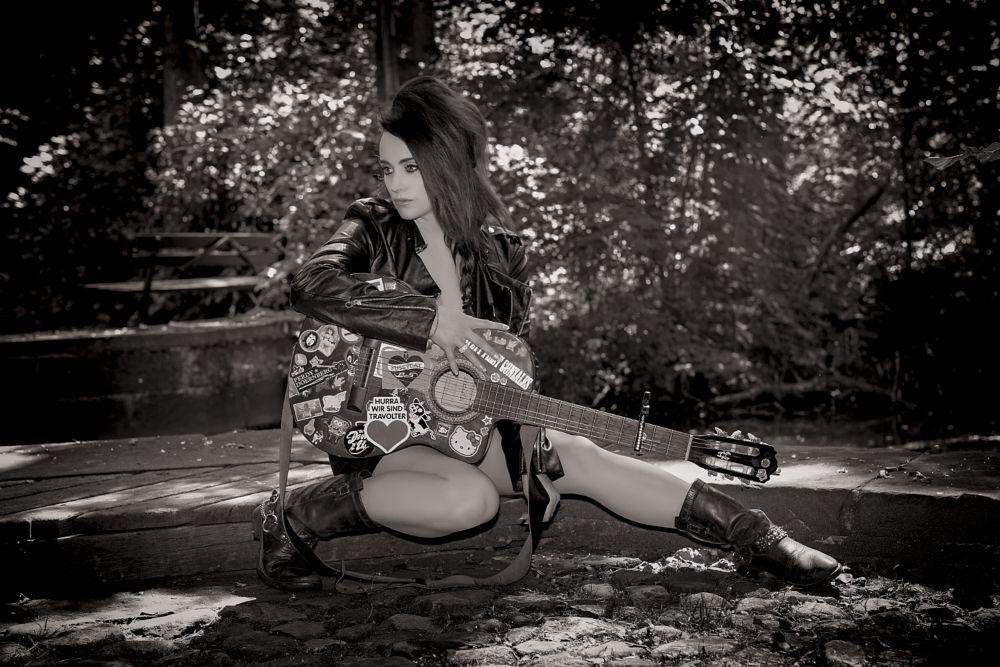Photo in People #die janine #shooting #musik
