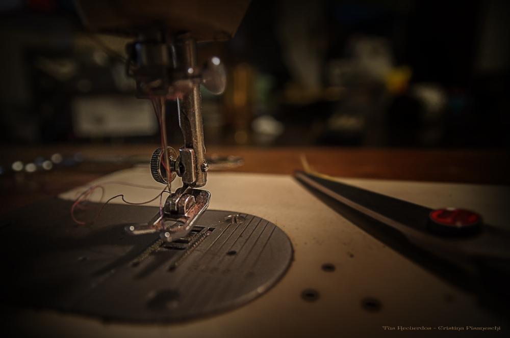 Photo in Macro #sewing machine