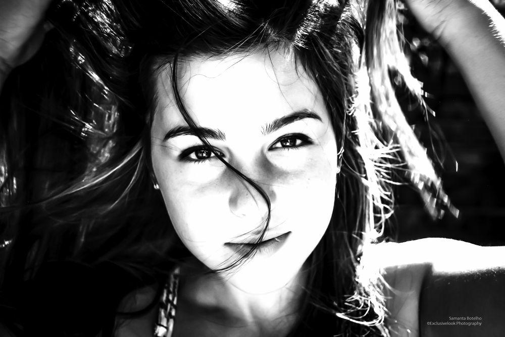 Photo in Portrait #fashion #portrait #girl #women #eyes #expressive #expression #black&white