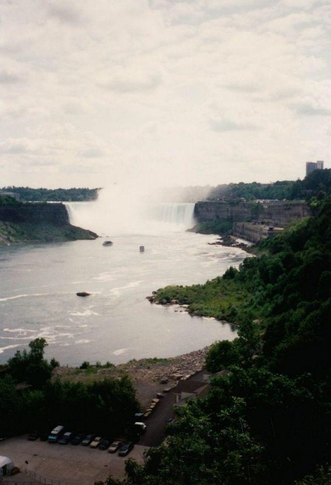 Photo in Random #usa - round trip 1993 - niagar