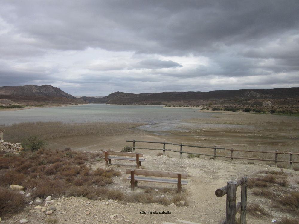 Photo in Landscape #water #lake #lago #nature #landscape #teruel #aragón #polidas chamineras #yayo chamin #cueva foradada #alcaine #cuencas mineras #lagunas #embalses