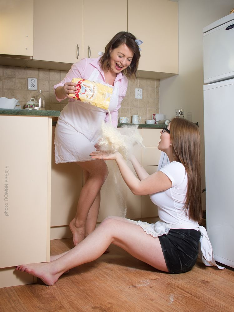 Photo in People #female #cook #funny #girl #woman #cooking #fotork