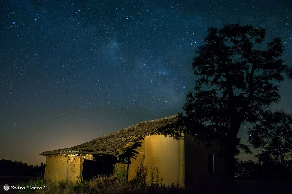 Photo in Nature #nocturnas #lightpainting #palencia