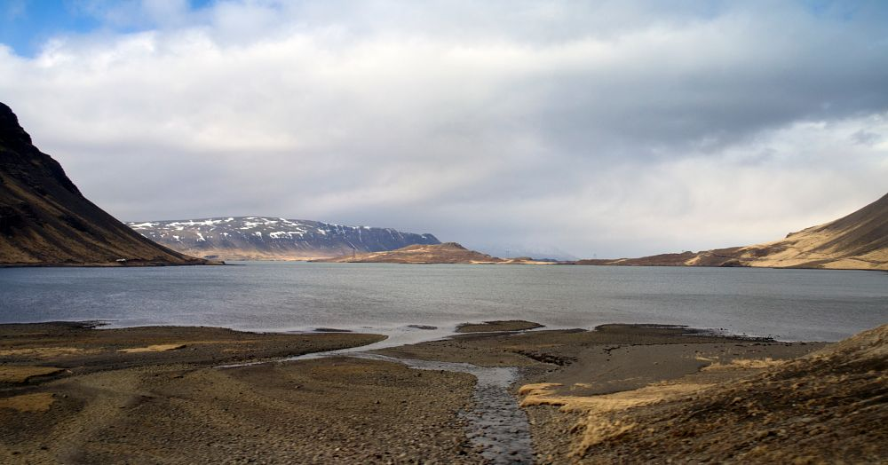 Photo in Landscape #hvalfjörður #iceland #fjord