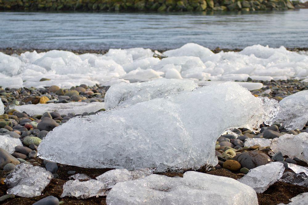 Photo in Landscape #jökulsárlón beach #ice #iceland