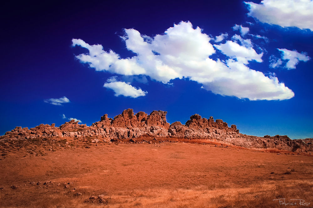 Photo in Landscape #africa #bush #clouds #cliff #desert #hammamet #tunisia #rocks #savannah