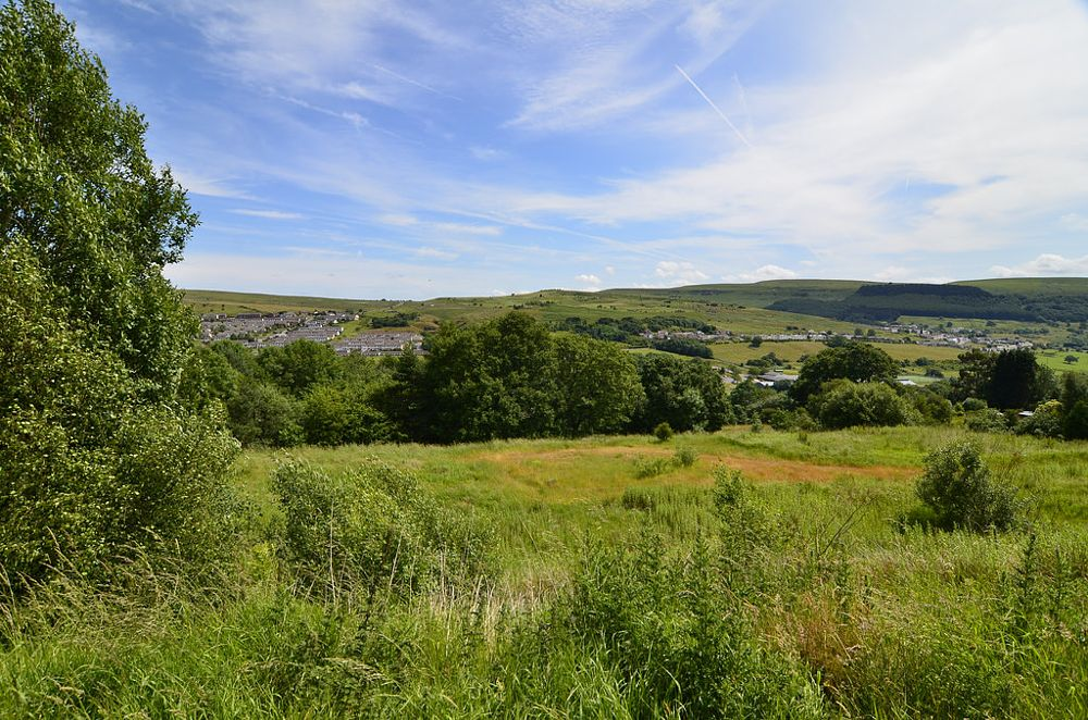 Photo in Landscape #pontlottyn #wales #landscape #valleys #village #nikon