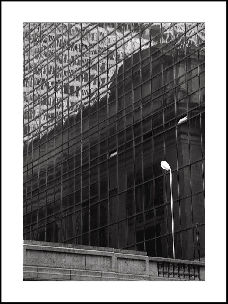 Photo in Cityscape #new york #manhattan #usa #city #cityscape #lamp #b & w #black and white #nikon #nikon d200 #d200