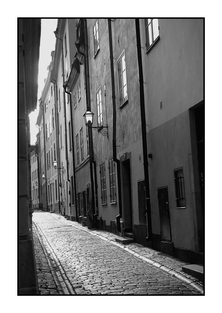 Photo in Black and White #stockholm #sweden #old town #nikon #d610 #nikon d610 #b & w #black and white #black & white