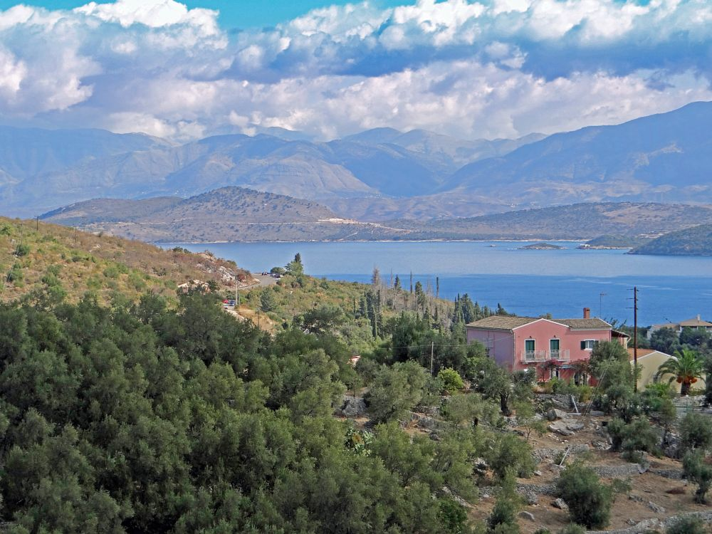 Photo in Random #mountains #sea #landscape #greece #corfu
