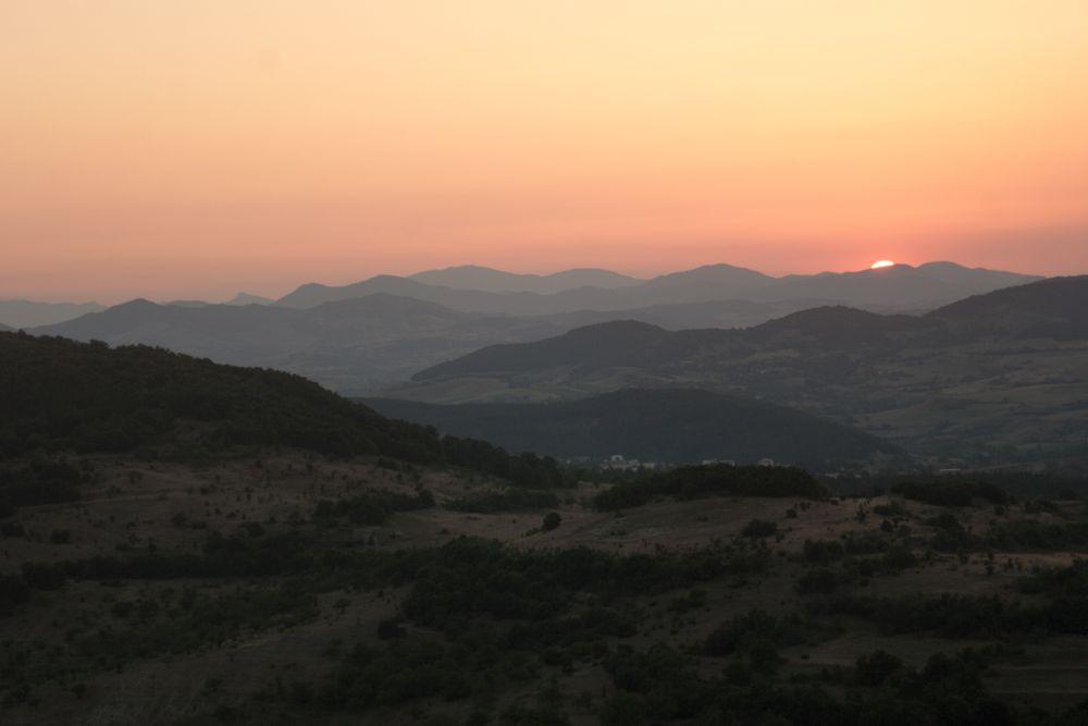 Photo in Landscape #sun set #perperikon #vlad krum #holy city #ares #bulgaria
