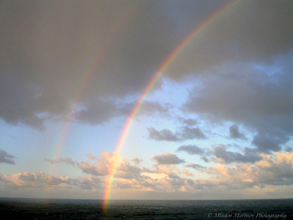 Photo in Nature #nature #ocean #rainbow