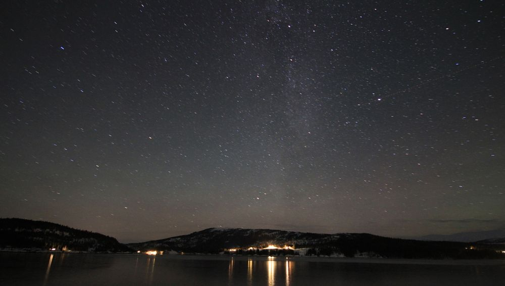 Photo in Landscape #stars #water #reflections #ice